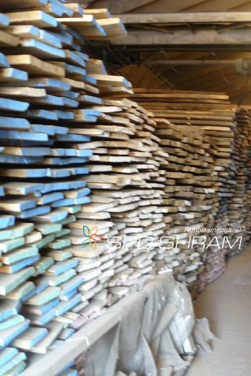 Unedged boards (oak)